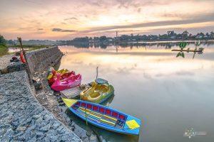 Menikmati Ketenangan di Danau Sipin Jambi