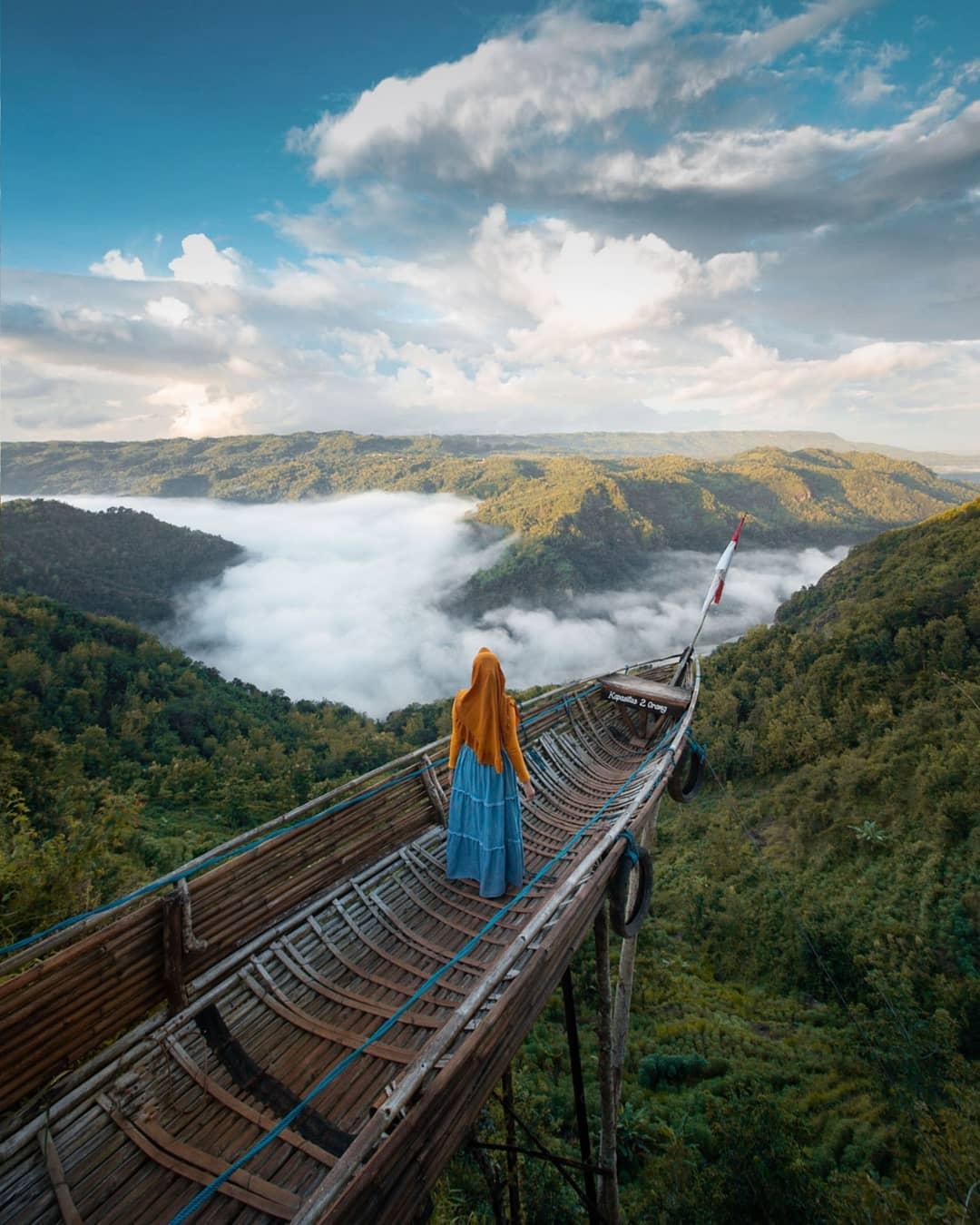 Wisata Alam Jogja Jurang Tembelan Kanigoro