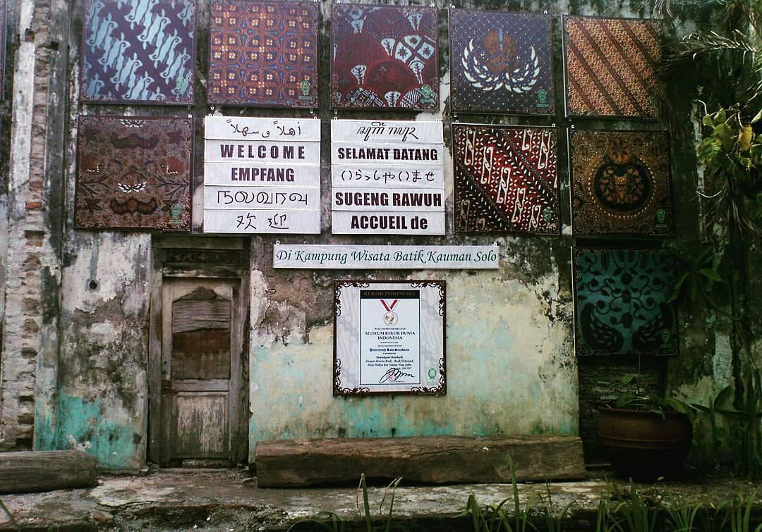 Wisata Kampung Batik Kauman